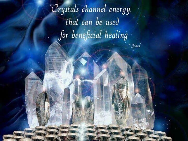 Crystals channel energy