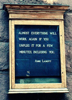 Almost everything will work again if you unplug it for a few minutes...including you.